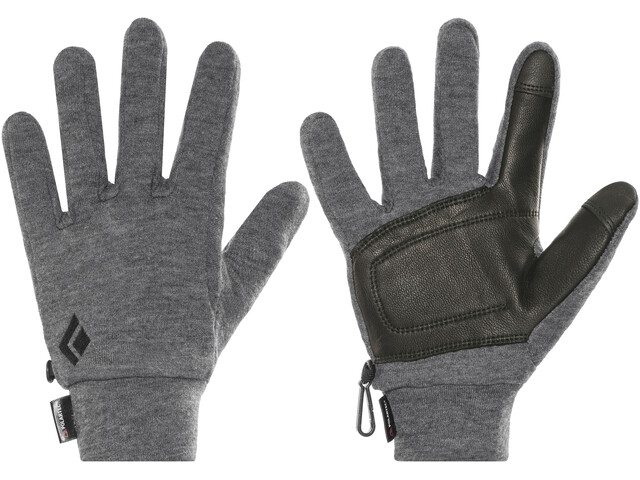 Black Diamond Midweight Wooltech - Guantes - gris